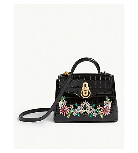 d4331bf28259 MULBERRY - Seaton flower embellished micro shoulder bag
