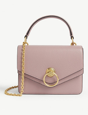 MULBERRY Harlow small grained leather satchel