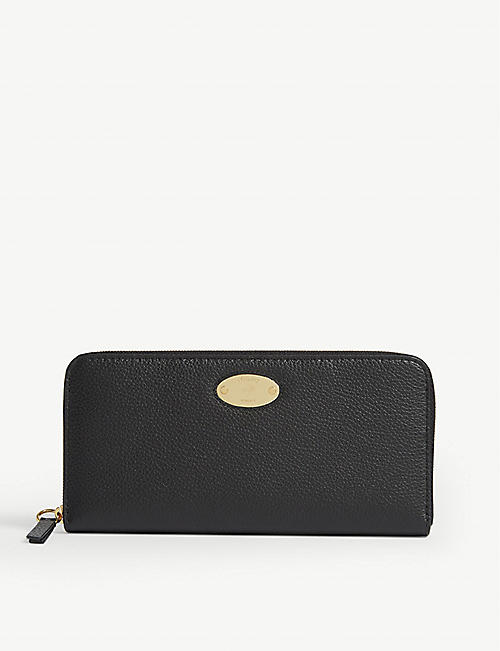 MULBERRY Leather zip-around wallet
