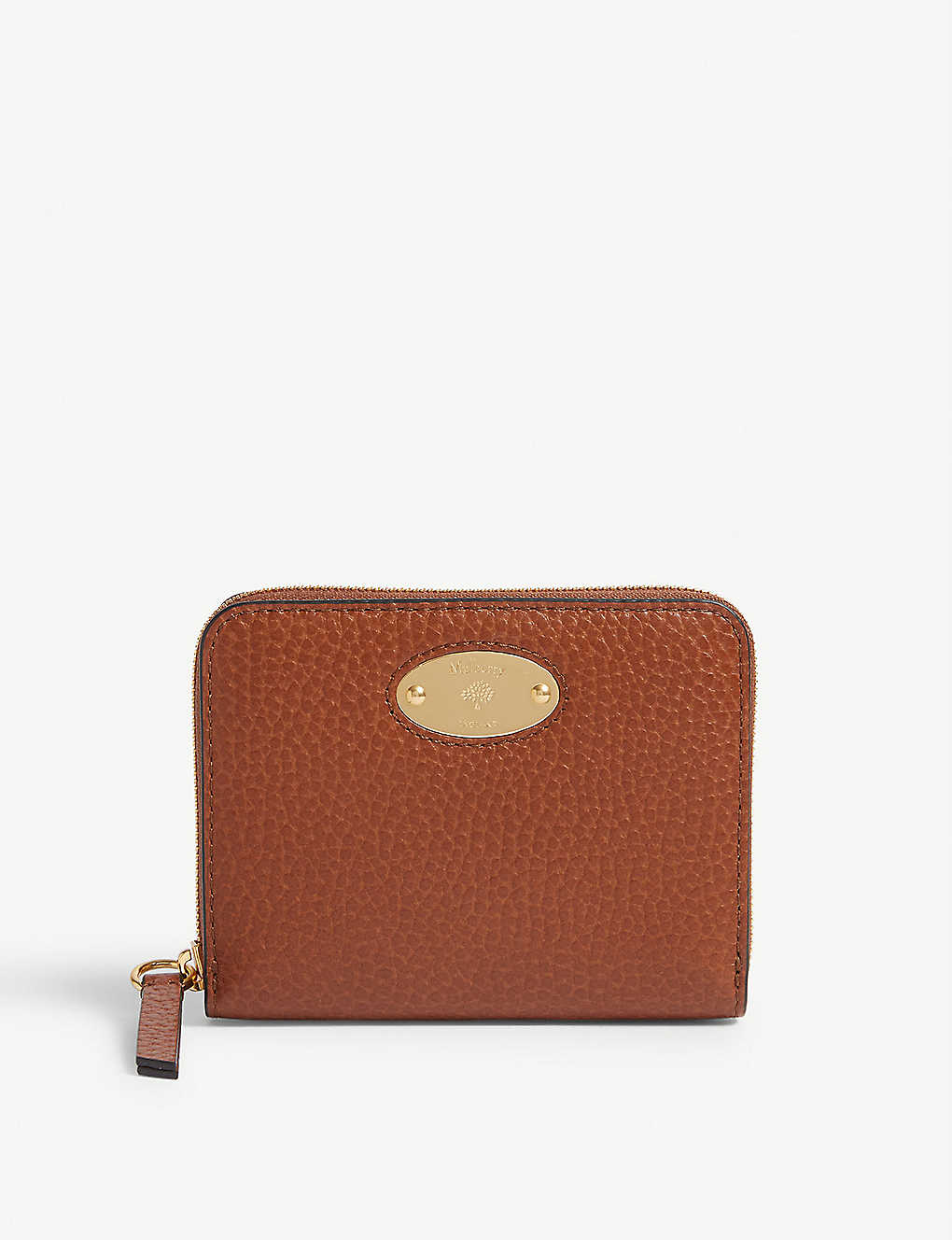 MULBERRY: Leather plaque wallet