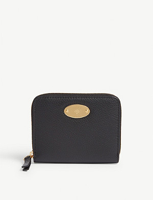 MULBERRY Leather plaque wallet