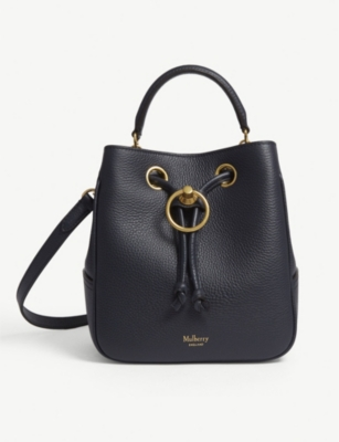 MULBERRY Hampstead leather bucket bag