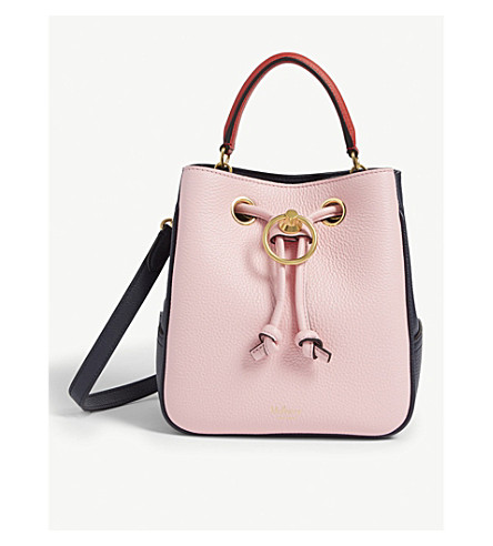 MULBERRY - Hampstead small leather bucket bag  d5c87026aa411