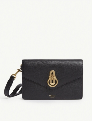 MULBERRY Amberley leather phone clutch