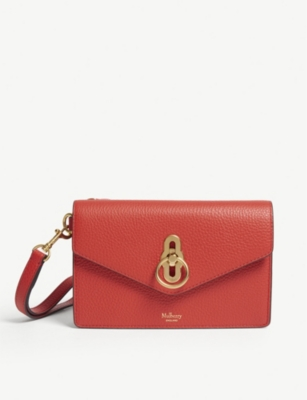 MULBERRY Amberley leather iphone clutch