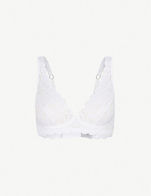 HANRO Moments lace soft-cup bra