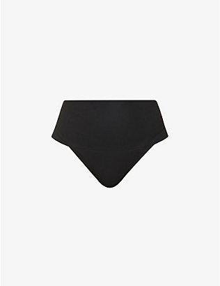 SPANX: Undie-tectable high-rise jersey thong