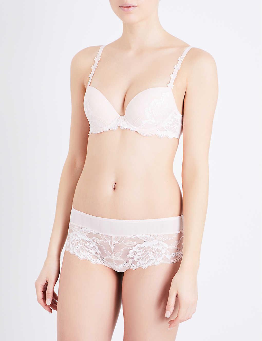 53f4cdc4c72f89 SIMONE PERELE - Amour lace push-up bra | Selfridges.com