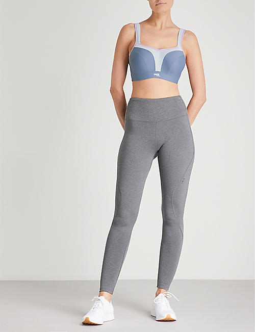 PANACHE Wired stretch-jersey sports bra