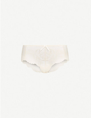 PANACHE: Andorra stretch-lace shorty briefs