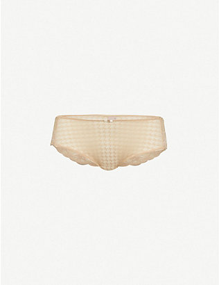 PANACHE: Envy stretch-lace briefs