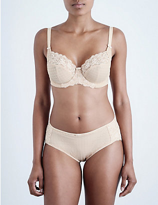 PANACHE: Envy lace underwired balconette bra