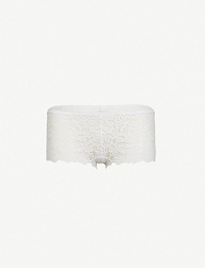 DKNY Classic floral lace cheeky briefs