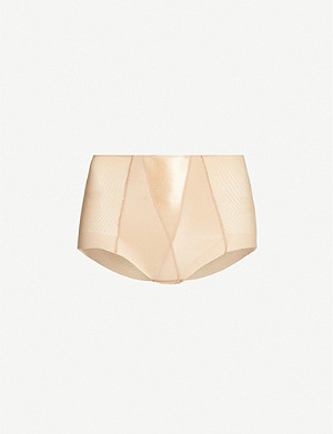 MAISON LEJABY Silhouette mesh shaping briefs