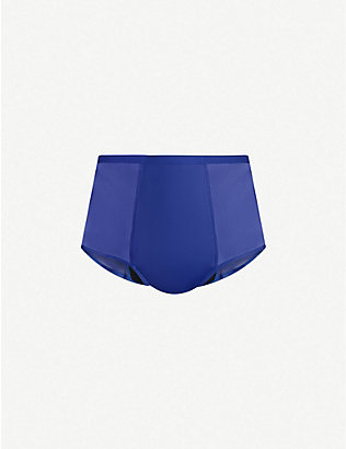 THINX: Hi-Waist stretch-cotton briefs