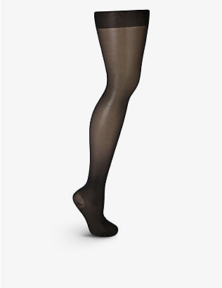 WOLFORD: Miss W Leg Support high-rise stretch-knit tights