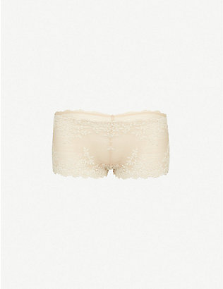 WACOAL: Embrace lace boyshorts