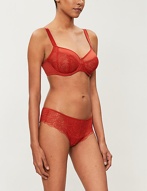 FANTASIE Twilight mesh and lace bra