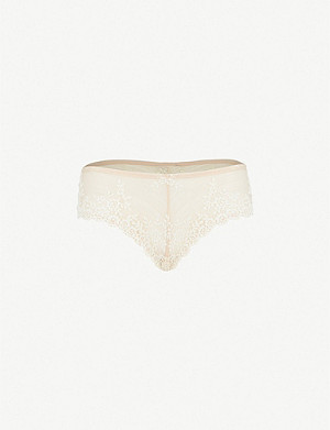 WACOAL Embrace Lace stretch-lace tanga briefs