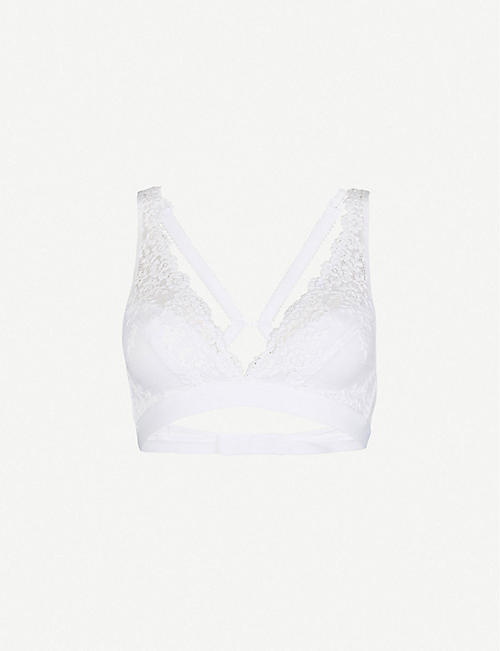 WACOAL Embrace stretch-lace soft-cup bra
