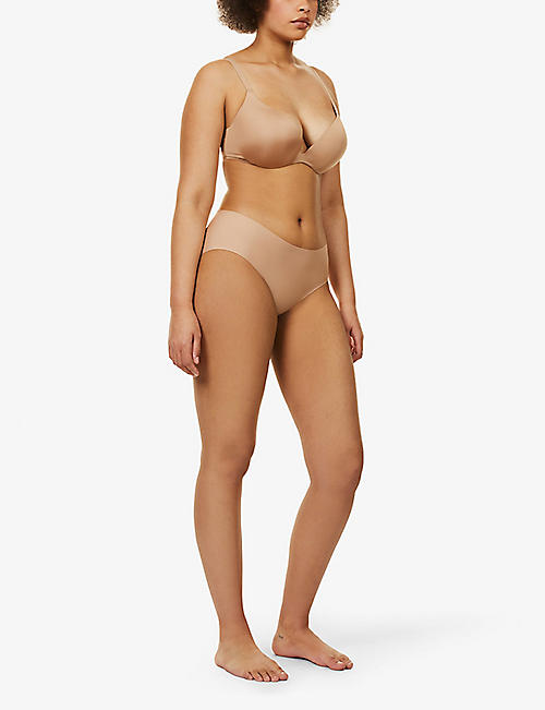 WACOAL Intuition stretch-jersey push-up contour bra