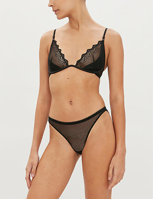 HEIDI KLUM INTIMATES Evening Lily lace midi briefs