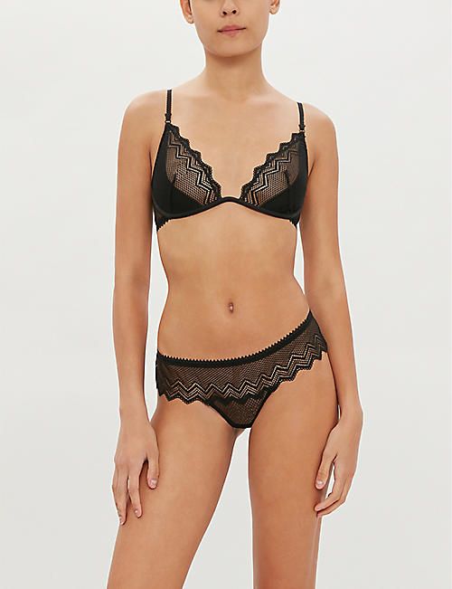 HEIDI KLUM INTIMATES Evening Lily lace thong