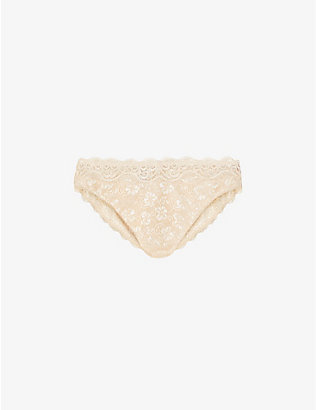 TRIUMPH: Amourette 300 Tai stretch-lace briefs