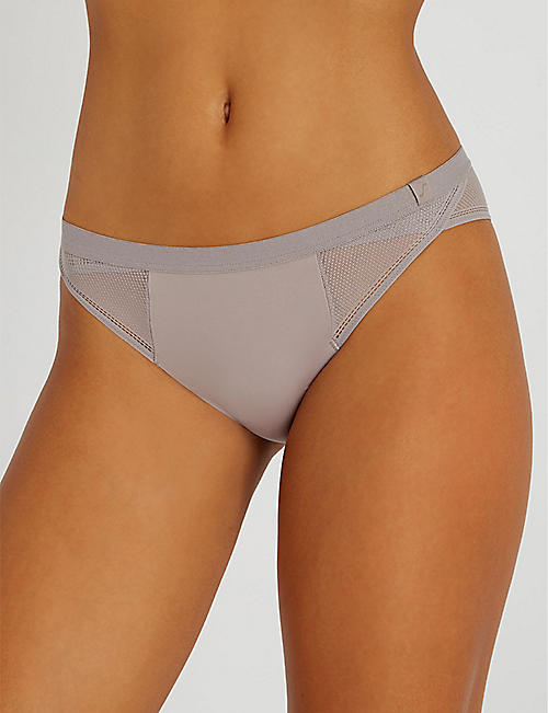 S BY SLOGGI Symmetry microfibre Brazilian briefs