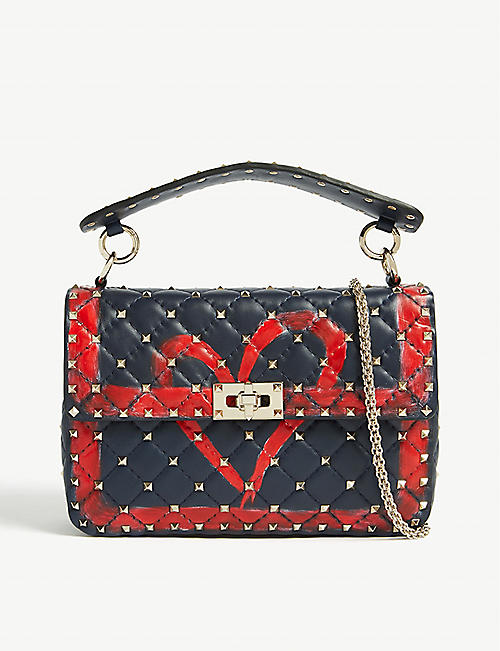 VALENTINO Heart print shoulder bag