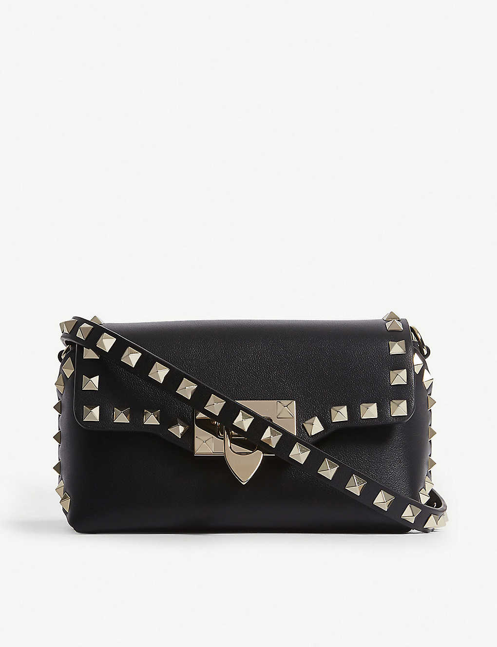 f1b71faf21 VALENTINO - Rockstud leather cross-body bag | Selfridges.com