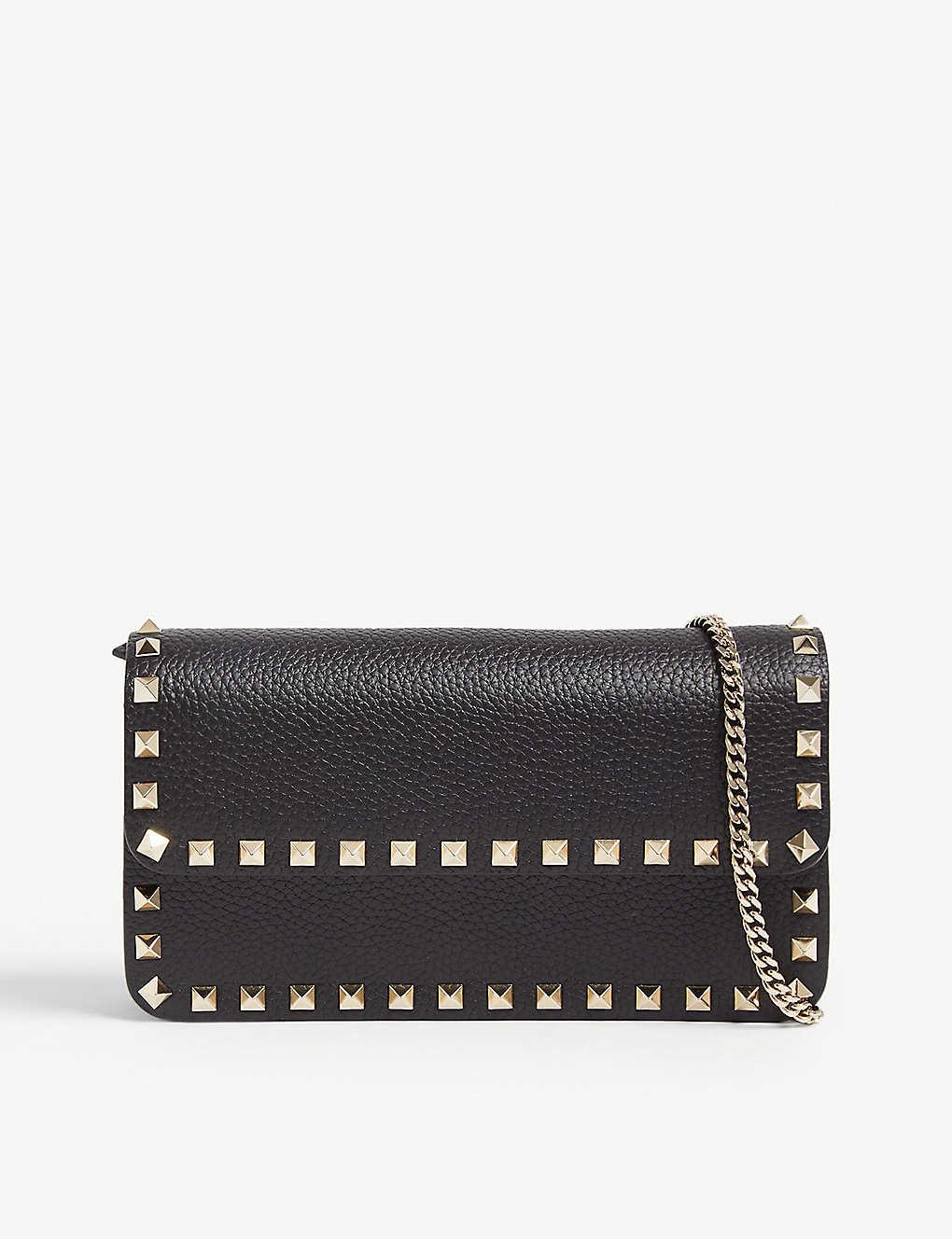 f47b4dc9c VALENTINO - Rockstud leather cross-body bag | Selfridges.com
