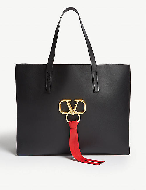 VALENTINO V ring shopper bag 08e600d92