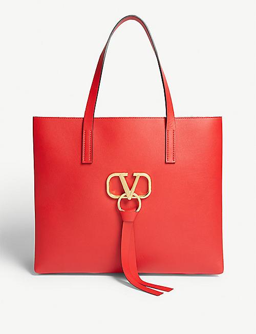 ec66d518b95cd VALENTINO Vring shopper bag