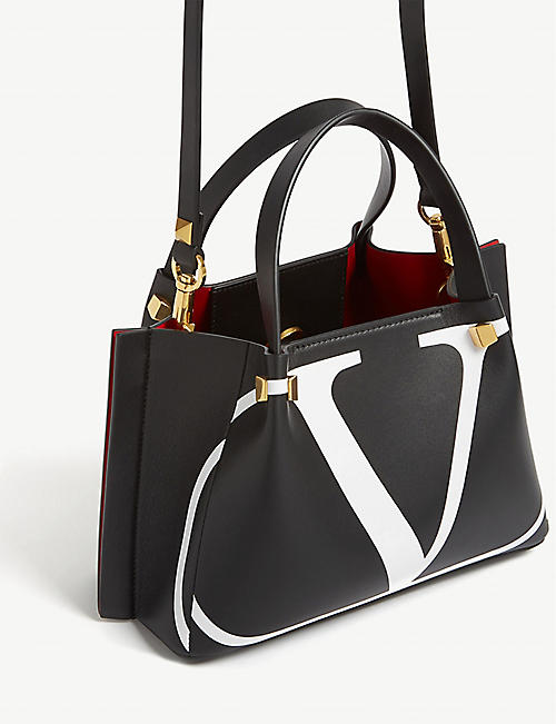 2317afd37d52 VALENTINO  V  logo leather mini shopper. Quick Shop