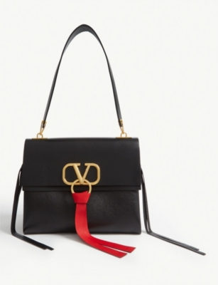 VALENTINO Vring leather bag