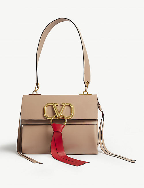 667eceb9a25 VALENTINO Leather shoulder bag