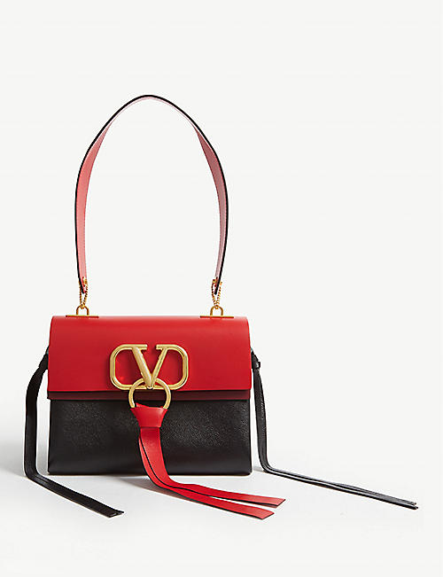 50282a9766a9 VALENTINO Vring leather bag