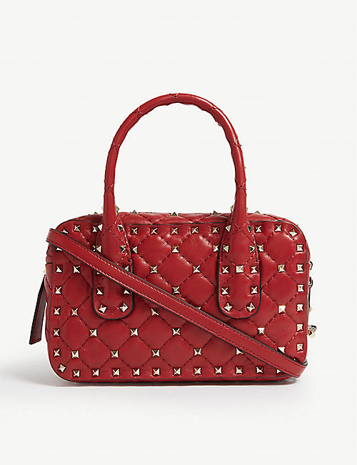 3af35572c6ca VALENTINO Quilted bowling bag