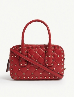 VALENTINO Quilted bowling bag