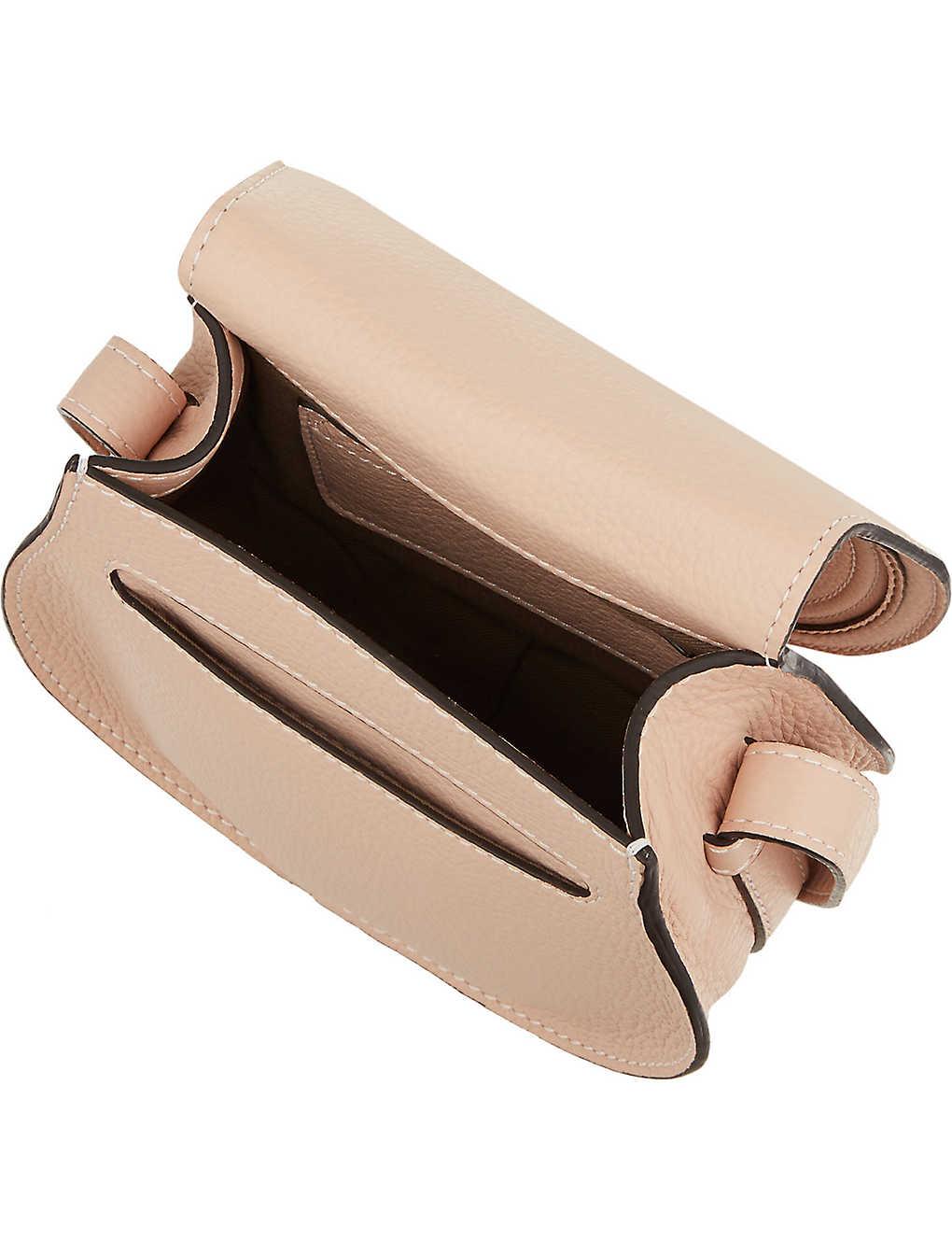 57a77a35cefccc CHLOE - Marcie leather cross-body bag | Selfridges.com