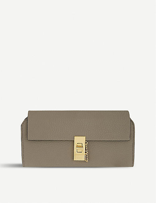 48be1923d8c64 CHLOE - Drew leather wallet