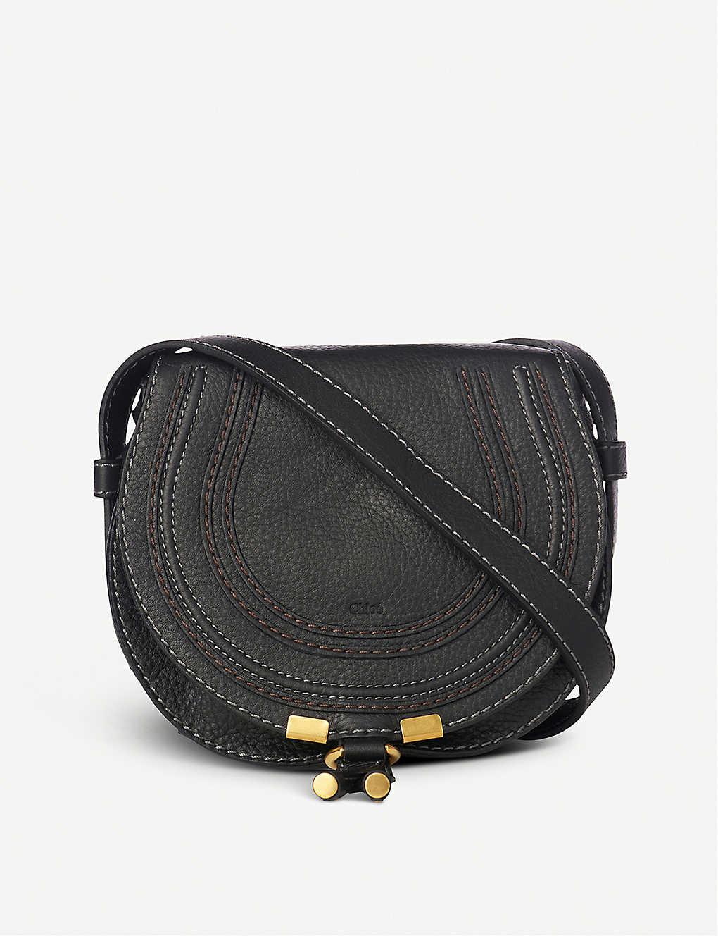 4872e9af140116 CHLOE - Marcie small leather saddle bag | Selfridges.com