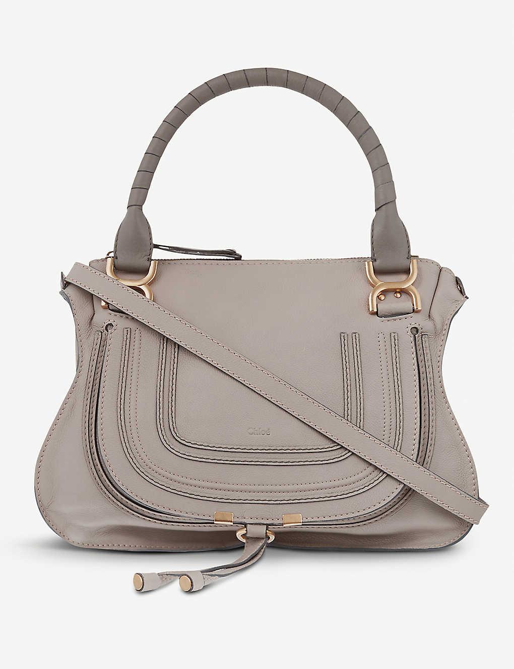 15cfd66af00 CHLOE - Marcie medium leather cross-body bag | Selfridges.com