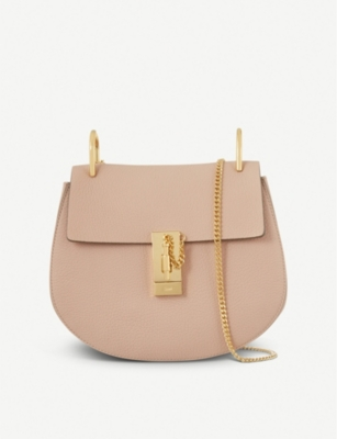 c023d234 CHLOE Drew small leather cross-body bag