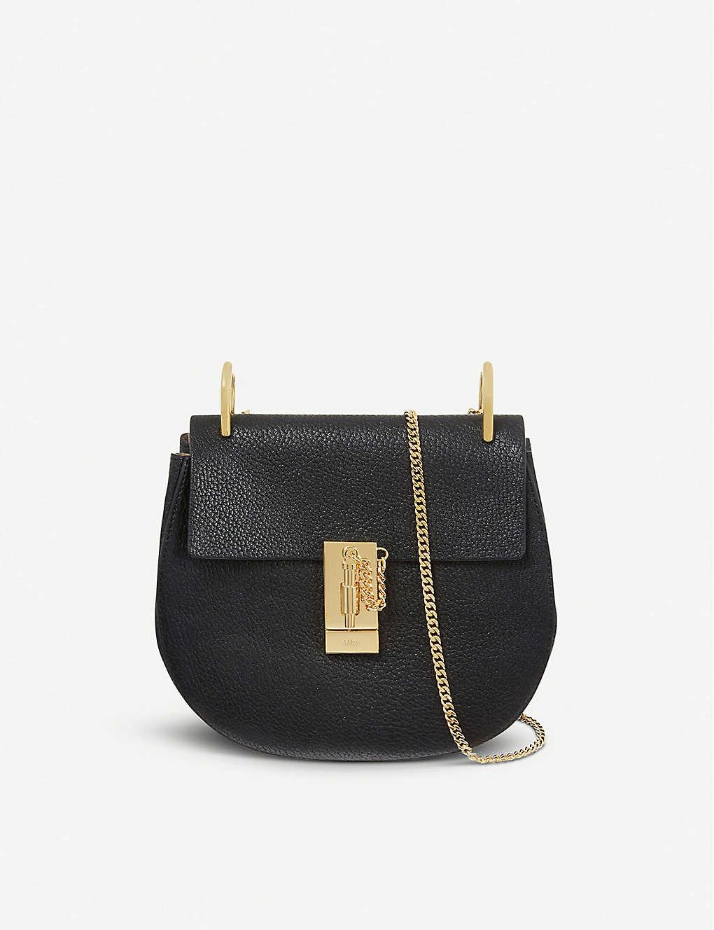 8ba998aaf01 CHLOE - Drew mini leather cross-body bag