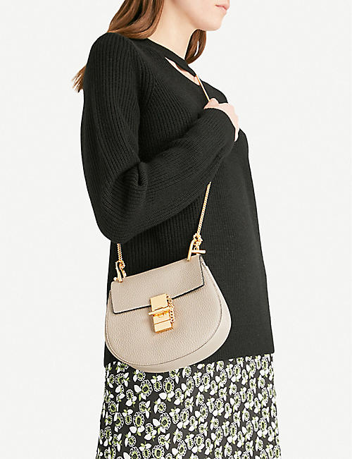 CHLOE Drew mini leather cross-body bag
