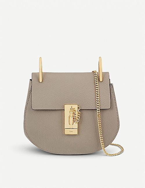 CHLOE Drew mini leather cross-body bag f9876ec67ce86