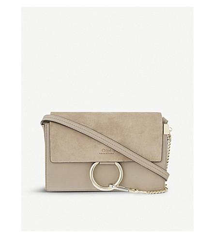 02e44c45c52c ... CHLOE Faye small leather shoulder bag (Motty+grey. PreviousNext