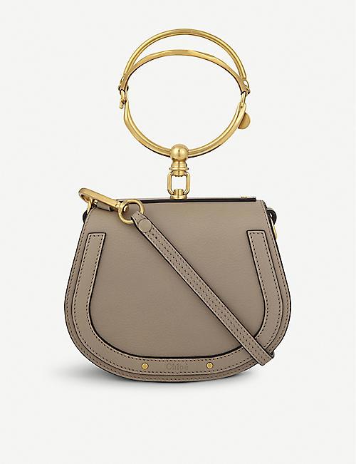 5b862ece80 CHLOE - Nile small leather cross-body bag | Selfridges.com